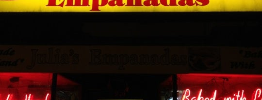 Julia's Empanadas is one of WAsh DC.
