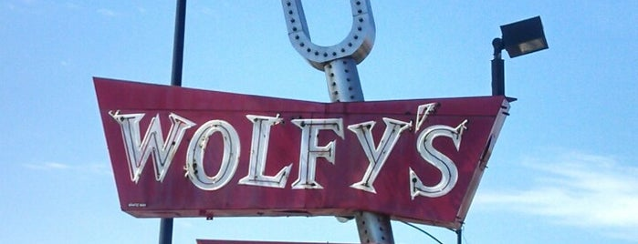 Wolfy's is one of Chicago Eats to Try.