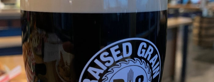 Raised Grain Brewing is one of Rob's Liked Places.