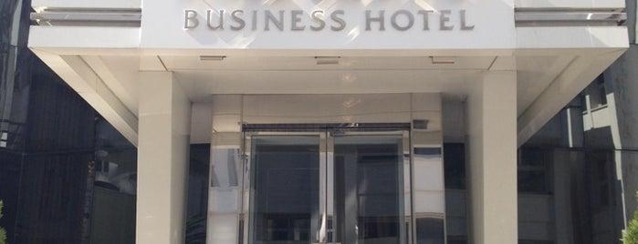 Asrın Business Hotel is one of Tempat yang Disukai Resul.