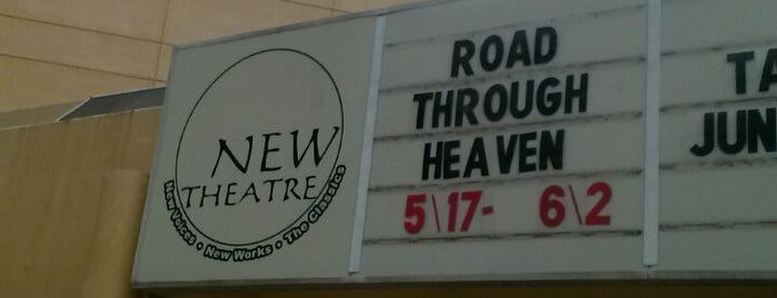 New Theatre is one of New Play Havens.