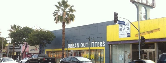 Urban Outfitters is one of los angeles.