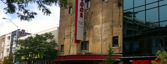 The Bloor Hot Docs Cinema is one of Francis' Toronto.