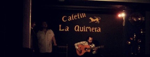 Tablao Flamenco Cafetín La Quimera is one of Madrid Live Music (1/2).
