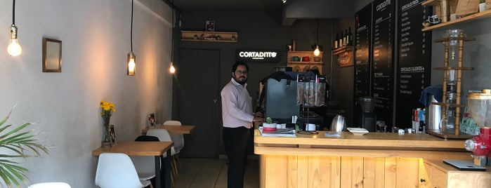 Cortaditto café is one of Coffee tour CDMX.