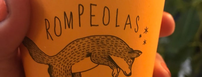 Rompeolas Café is one of Coffee tour CDMX.