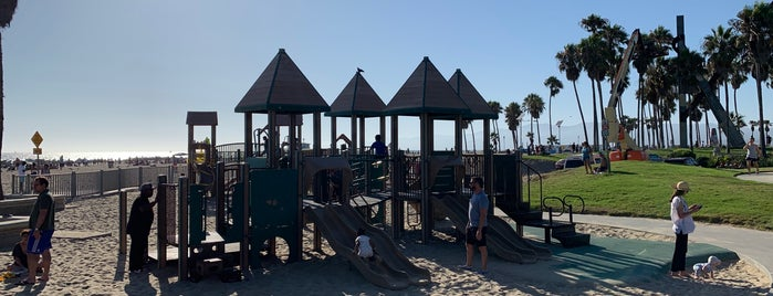 Venice Beach Playground is one of LA Favorites.