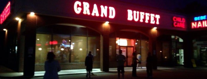 Grand Buffet is one of Orte, die Mario gefallen.