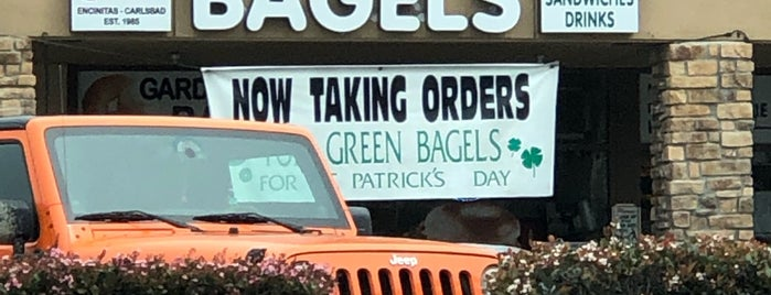 Garden State Bagels is one of home: san diego.