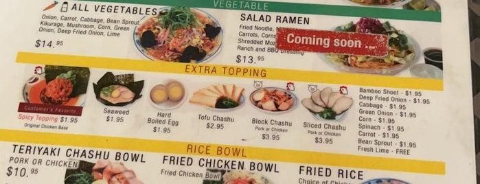 venice ramen is one of Los Angeles Stuff!.