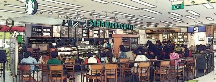 Starbucks is one of Orte, die Ricky gefallen.