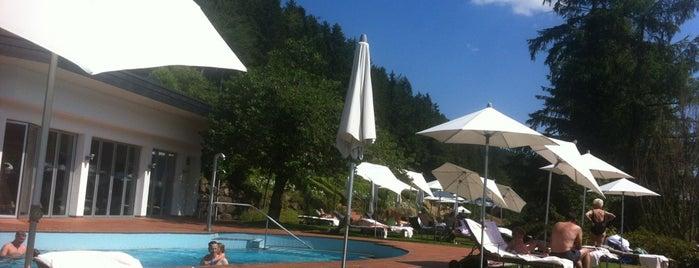 Hotel Traube Tonbach is one of สถานที่ที่ Babbo ถูกใจ.