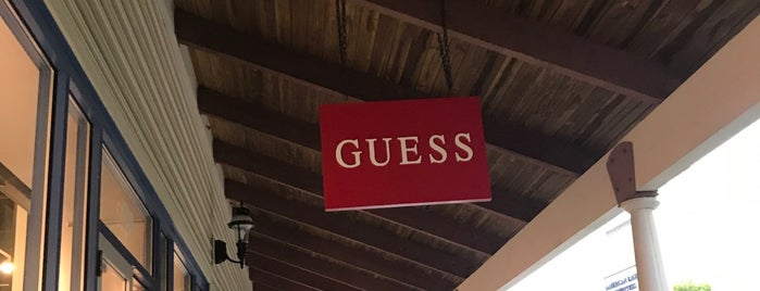 GUESS Factory is one of My Favorites.