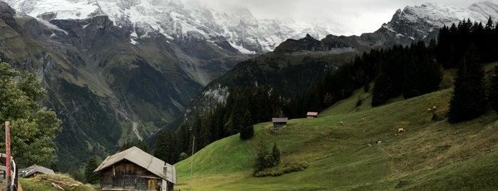 Almendhubelbahn is one of Mürren, Switzerland.