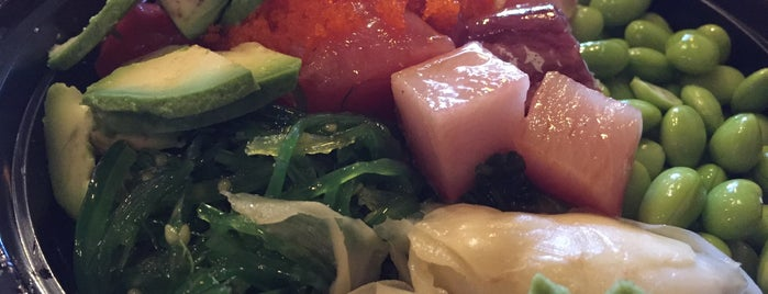 Broadway Poke & Sushi is one of ben: сохраненные места.