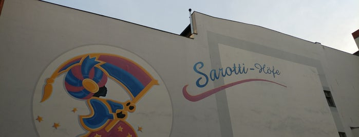 Sarotti-Höfe is one of Micha : понравившиеся места.