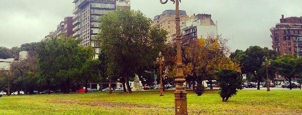 Plaza República Oriental del Uruguay is one of Outdoor Activity in BAires.