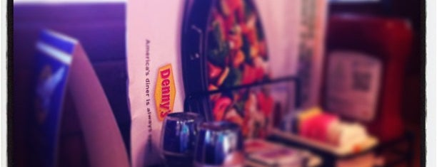 Denny's is one of Been to faves to check in at.