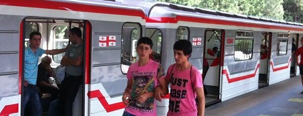 Metro Didube is one of Посетили Грузия.