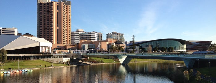 River Torrens is one of South Australia (SA).