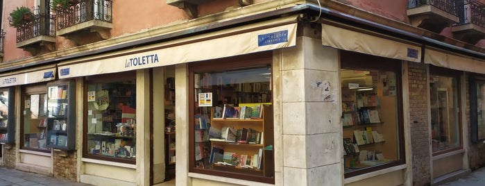 Libreria la Toletta is one of Venice.