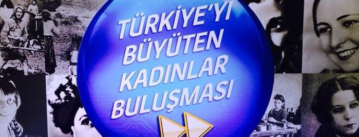 Turkcell Türkiye'yi Büyüten Kadınlar Buluşması is one of Lieux qui ont plu à Bike.