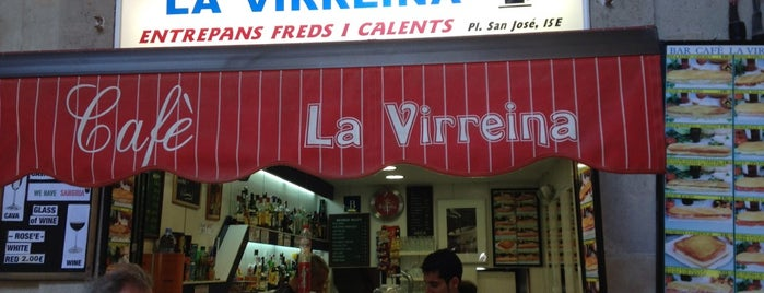 Bar-Café La Virreina is one of OFFF 2014.