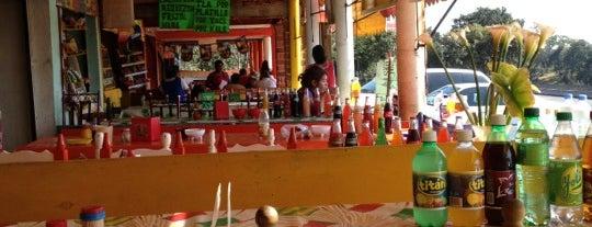 Tianguis de alimentos de Coajomulco is one of สถานที่ที่ Carla ถูกใจ.