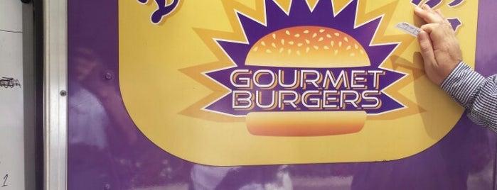 Dorothy Moon's Gourmet Burgers is one of Washington DC Food Trucks.