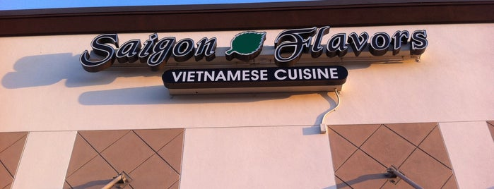 Saigon Flavors is one of Check Out.