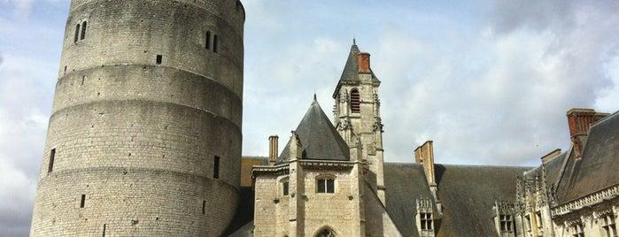 Château de Châteaudun is one of Châteaux de France.