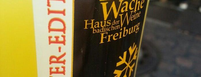 Glühweinstand Alte Wache is one of freiburg listesi.