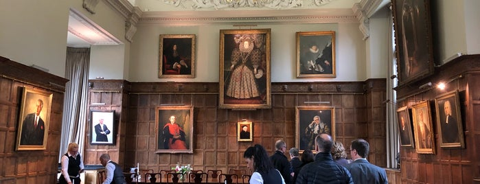 Jesus College Hall is one of Oxford.