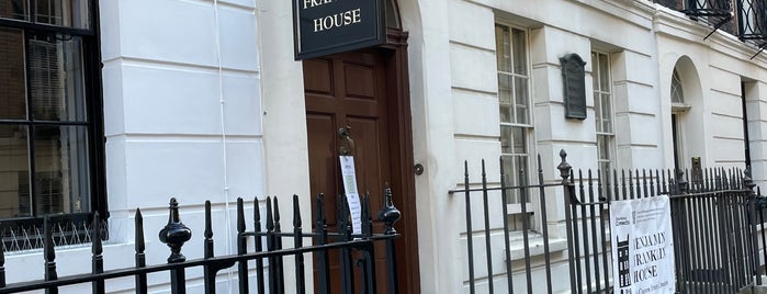 Benjamin Franklin House is one of London, UK (attractions).