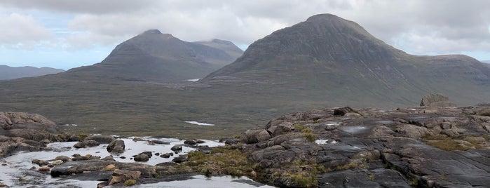 Beinn Eighe Mountain Trail is one of Scotland.
