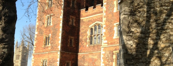 Lambeth Palace is one of london.