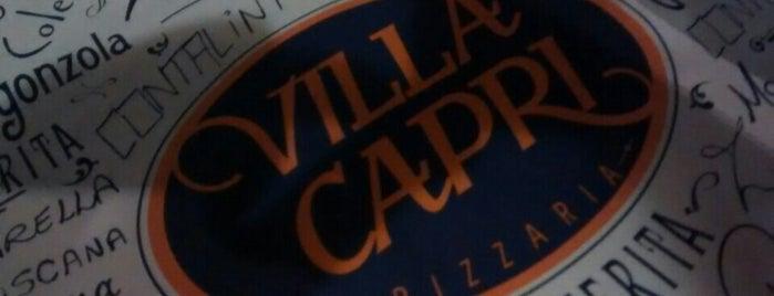 Villa Capri Pizzaria is one of Lugares favoritos de Vinícius.