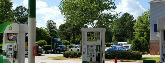BP is one of Orte, die Tracie gefallen.