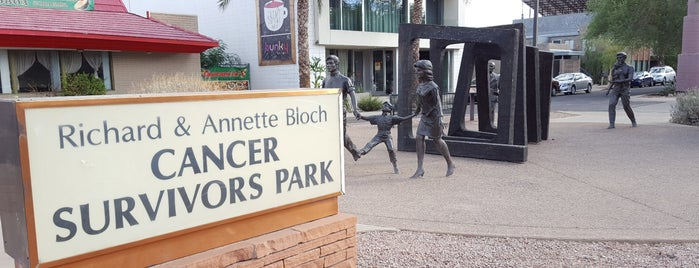 Richard and Annette Bloch Cancer Survivors Park is one of PHX Parks in The Valley.