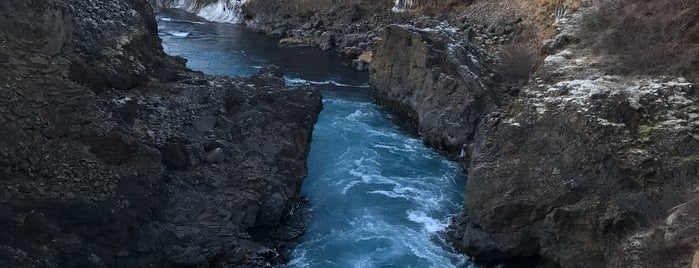 Barnafoss is one of Things to do and see around Borgarnes Hostel.