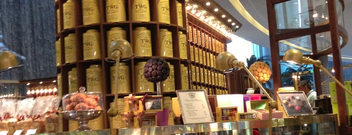 TWG Tea Salon & Boutique is one of Cristi : понравившиеся места.