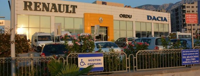 Renault Ordu A.Ş. is one of สถานที่ที่ TARIK ถูกใจ.