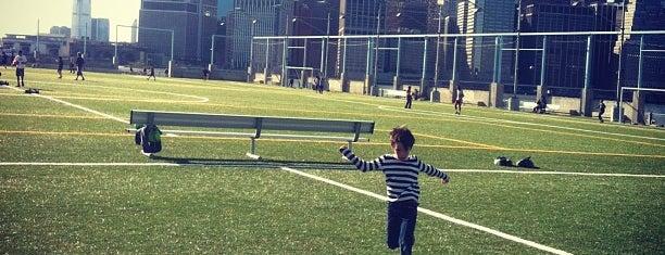Pier 5 Soccer Fields is one of Brooklyn Heights Neighborhood Guide.