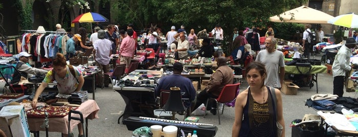 Immaculate Conception Flea Market is one of East Village.