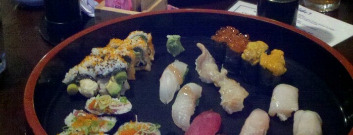 Nobu's Japanese Restaurant is one of Best Sushi.