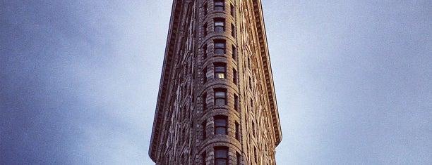 Flatiron Building is one of #myhints4NewYorkCity.