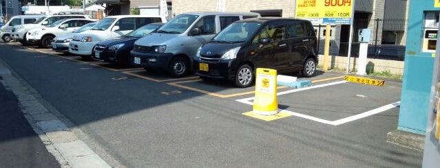 タイムズ生田第3 is one of 麻生区多摩区の 駐車場。.