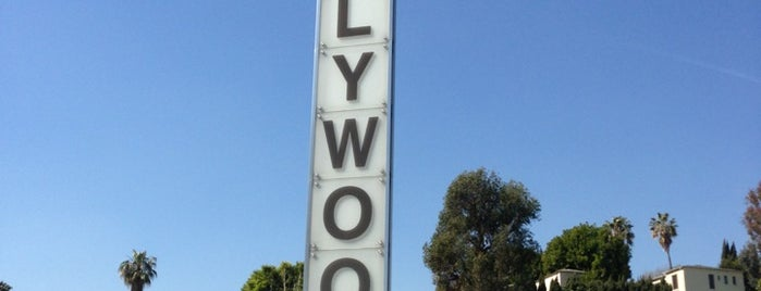 Hollywood Vertical Signpost is one of LA   Next.