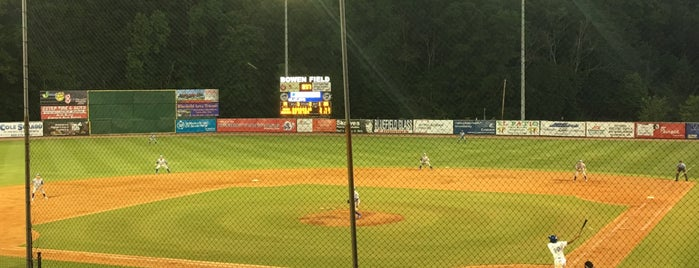 Bowen Field is one of Minor League Ballparks.