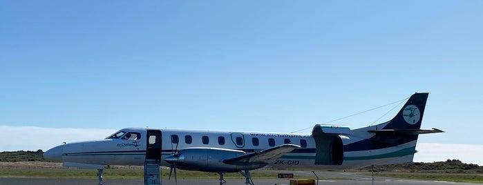 Whakatane Airport is one of internatiınal airport.